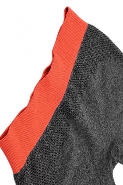 Леггинсы спорт серые2 матовые анатомические