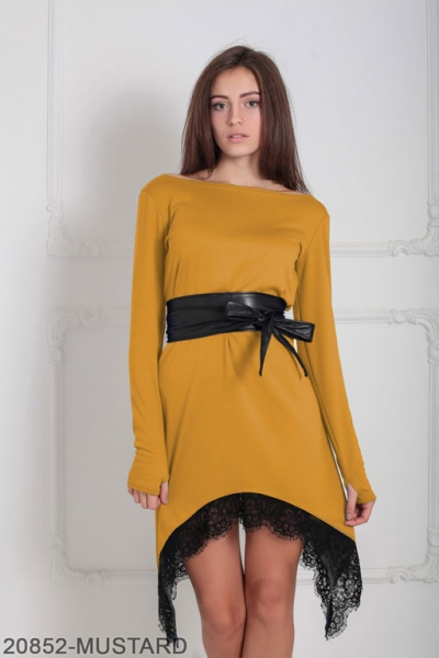 Женское платье Stima 20852-MUSTARD