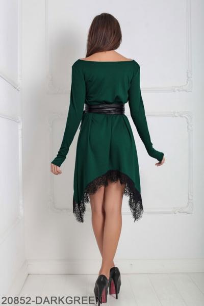 Женское платье Stima 20852-DARKGREEN