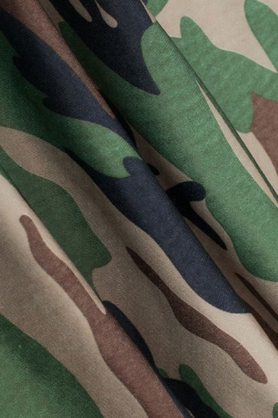 Леггинсы камуфляжные зелено-коричневые